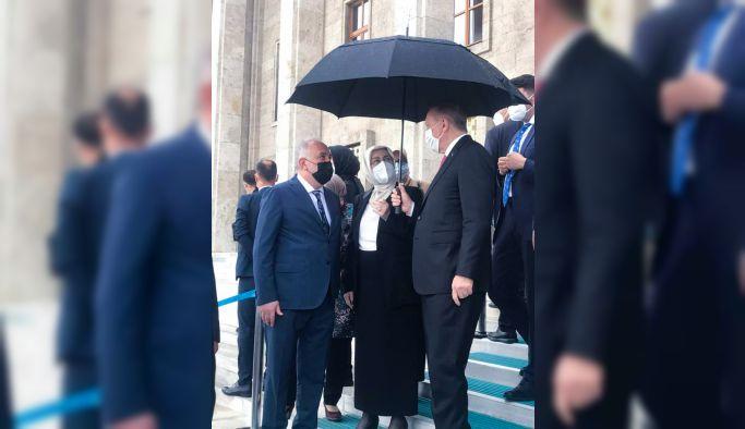 Başkan Silpagar Ankara'da Cumhurbaşkanı Erdoğan'la görüştü