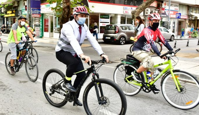 Tutuk herkesi bisiklet etkinliğine davet etti