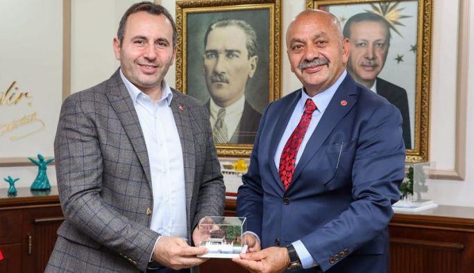 Tutuk Ortaköy Belediye Başkanını ağırladı
