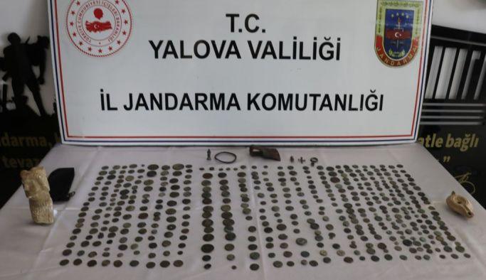 Yalova'da tarihi eser kaçakçılığı operasyonu