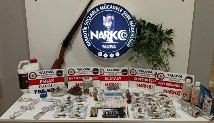 Narkotikten, uyuşturucu tacirlerine darbe