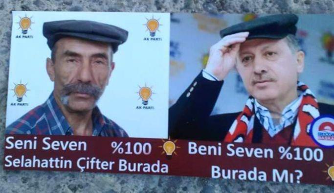 Pala Selahattin'in Erdoğan sevgisi bir başka