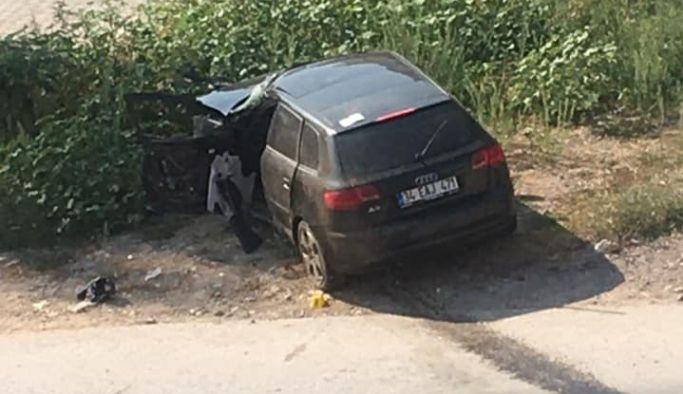 Çınarcık'taki kazada 1 kişi hayatını kaybetti