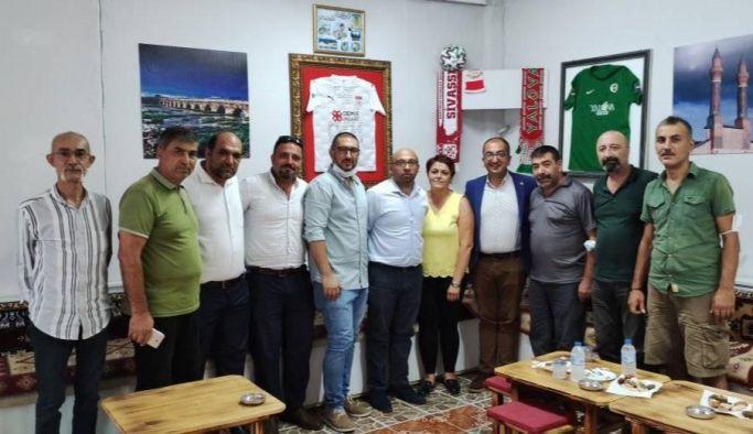 Sivaslılar Derneğine yapılan ziyaretten memnun ayrıldılar