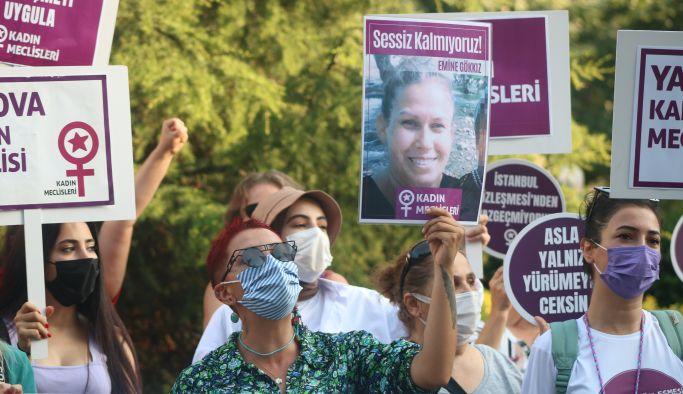 Yalova'da kadınlar Azra için meydanlarda