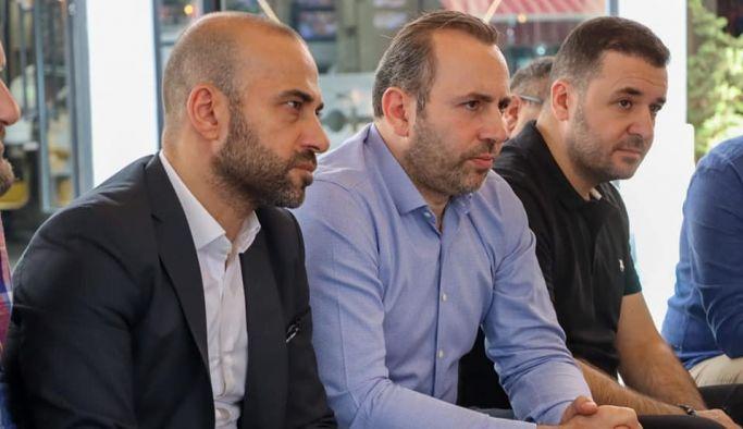 Başkan Vekili Tutuk, Huzur Sokağı esnafıyla buluştu