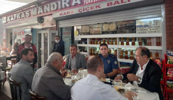 Kafkas Mandıra'yı ziyaret ettiler