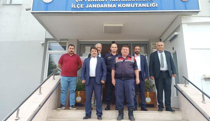 MHP, Çiftlikköy'de bir dizi ziyaret gerçekleştirdi