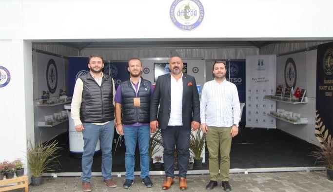 YTSO, PSB Anatolia 2021 Peyzaj ve Süs Bitkileri Fuarını ziyaret etti
