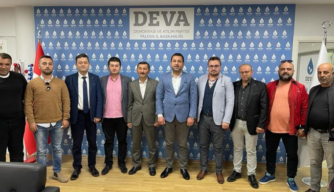 Giresunlular Derneği'nden DEVA Partisine iade-i ziyaret