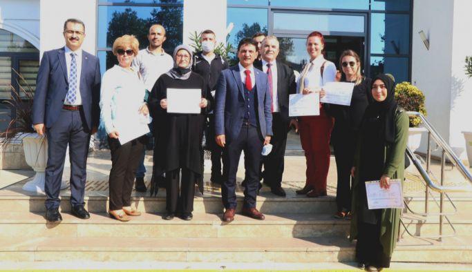 Kursiyerlere, Sürü Yönetim Elemanı sertifikaları dağıtıldı