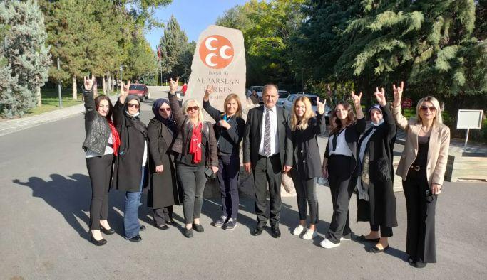 MHP Yalova, Analar Bacılar Kurultayı'na katıldı