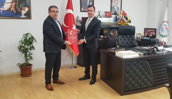 Müdür Laçin, Başkan Tokat'ı ziyaret etti