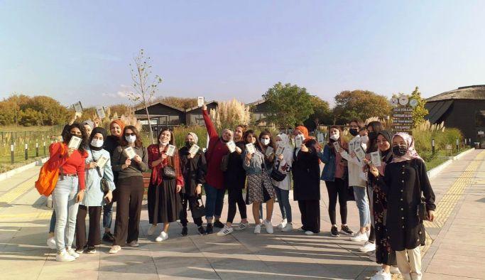 Öğrenciler, Hersek Lagününü gezdi