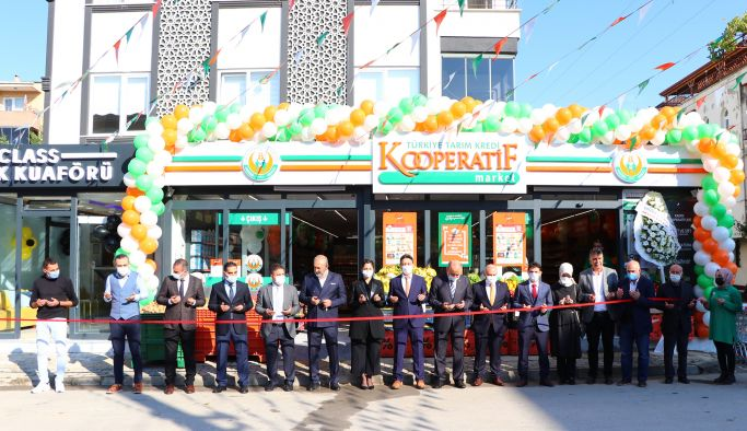 Tarım Kredi Kooperatifi Çiftlikköy'de açıldı