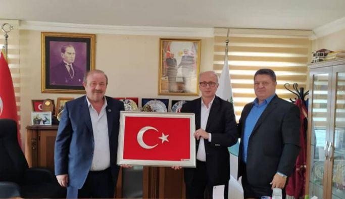 Temel, MHP Yönetimini ağırladı