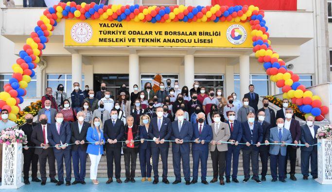 TOBB Lisesi'nin resmi açılış töreni gerçekleştirildi