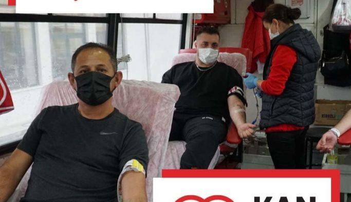 Yalova Üniversitesi, 'Kan Dostum' kampanyasına destek oldu