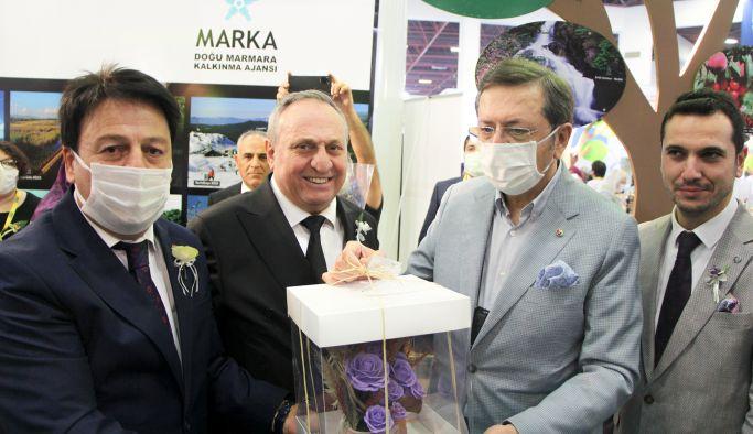 Yalova'nın markaları Yörex'te tanıtıldı