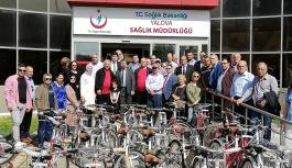 40 bisiklet sahiplerini buldu