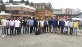 YTSO üyeleri, Turkeybuild İstanbul'u ziyaret etti