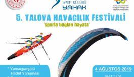 5. Yalova Havacılık Festivali Başlayacak!