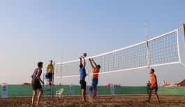 Beach Volley start aldı