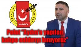 Polat, ''Aydın'a yapılan kahpe saldırıyı kınıyoruz''