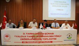 Tarım ve Orman Sektörü Değerlendirme Toplantısı yapıldı!