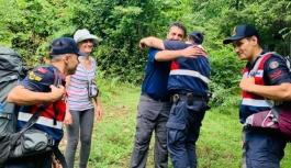 Teşvikiye'de kaybolan 2 vatandaş kurtarıldı