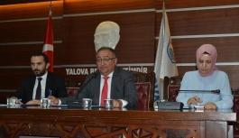 Yalova Belediye Meclisi Temmuz ayı ikinci toplantısını gerçekleştirdi