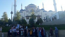 Büyük Çamlıca Camii ile buluştular