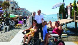 Engelsiz plaj, engellilere umut oldu