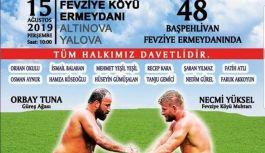 Tarihi Fevziye Yağlı Güreşlerinin tarihi belli oldu!