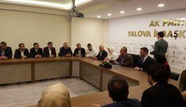Başkan Silpagar Çavuşoğlu'nu İl Binasında Karşıladı.