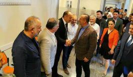 Başkanlardan Bakan Çavuşoğlu'na 'Hoş geldiniz'