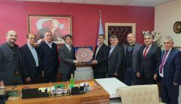 EBS Yönetiminden Cengiz Mete'ye ziyaret