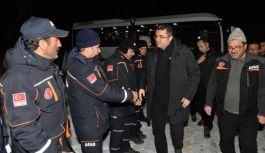 Erzurumdan'dan Elazığ'a yardım eli