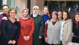 Vekil Akyol'dan kadın kooperatifine tam destek
