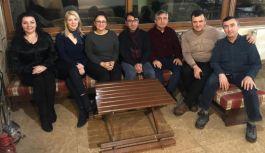 Yalova Şehit Kütüphaneleri Gönüllüleri toplandı