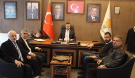 Erzurumlular Derneği'nden Partilere ziyaret
