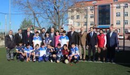 Futbol Sahası açılışı gerçekleştirildi