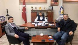 Parıldar'dan Başkan Çetin'e ziyaret