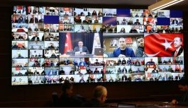 AK Parti Video Konferans gerçekleştirdi