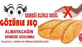 Ekmek ve Meyve - Sebzeler poşette satılacak