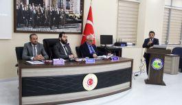 Parıldar, Meclis Üyelerine Tarımsal Projeleri anlattı