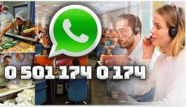 'Whatsapp Gıda İhbar Hattı' vatandaşın hizmetinde