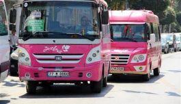 Şehiriçi minibüslerin sefer saatleri değişti
