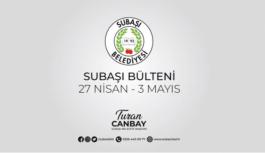 Canbay'dan bir haftalık çalışma raporu