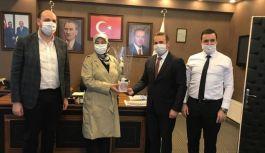 Tutuk'tan İl Başkanlığına ziyaret